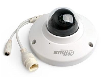 大华 200万H.265防暴电梯半球网络摄像头内置MIC/内置SPEAKER