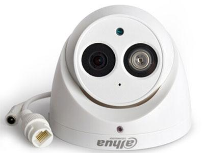 大华  600万录音半球高清监控摄像头H265摄像头手机远程摄像机DH-IPC-HDW4636C-A