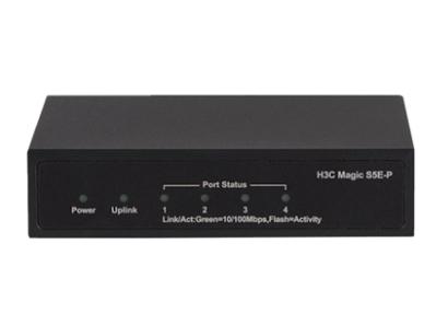H3C S5E-P: 5口百兆POE 57W