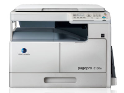 美能达  pagepro 6180e A3黑白多功能一体机 标配GDI打印功能 多合一输出 超高画质的Simitri HD高清晰聚合碳粉 便捷的身份证复印功能 人性化的操作 标配扫描功能