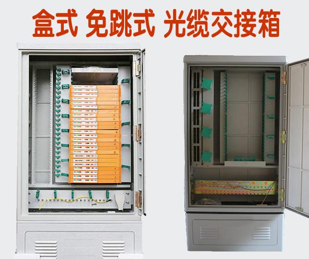 144  288  576芯 室外落地式光交箱免跳接式