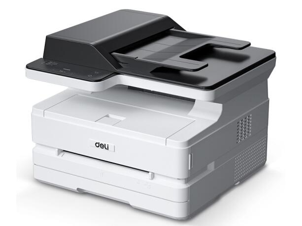 得力 M2500ADW 云打印无线wifi黑白激光打印机 家用办公大容量打印复印扫描一体打印机 ADF扫描打印机