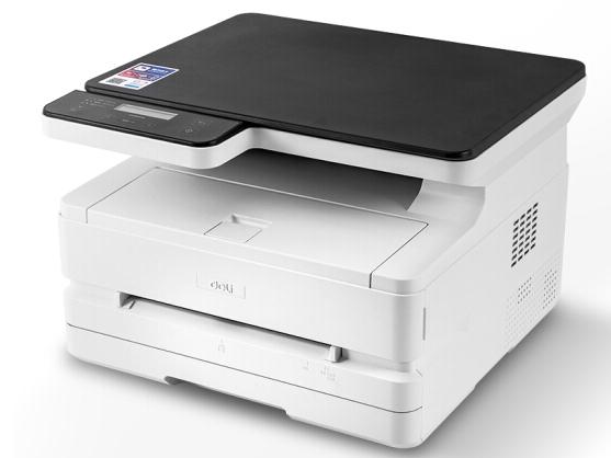 得力 M2500DN 云打印多功能三合一激光打印机 黑白家用办公大容量打印复印扫描一体机