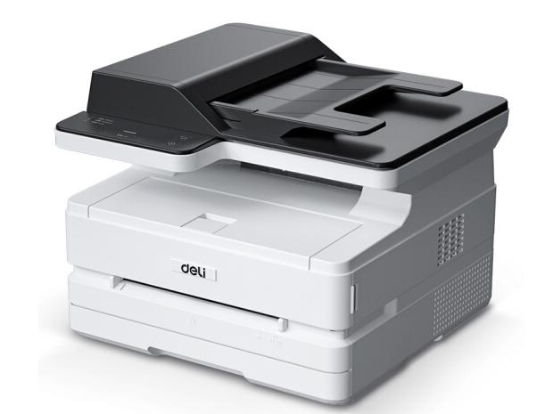 得力 M2500AD 三合一黑白激光打印机 家用办公大容量打印复印扫描打印一体机