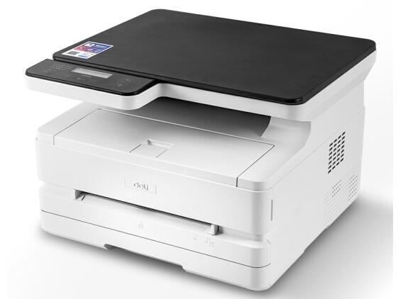 得力 M2500D 三合一黑白激光打印机 家用办公大容量打印复印扫描一体机