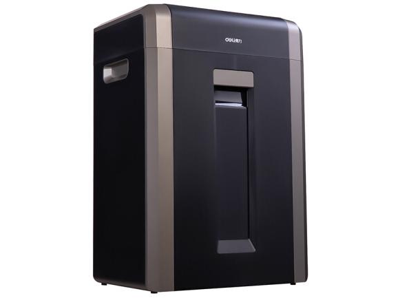 得力14403 大容量碎纸机 家用办公长时间高效碎纸机 单次入纸25张