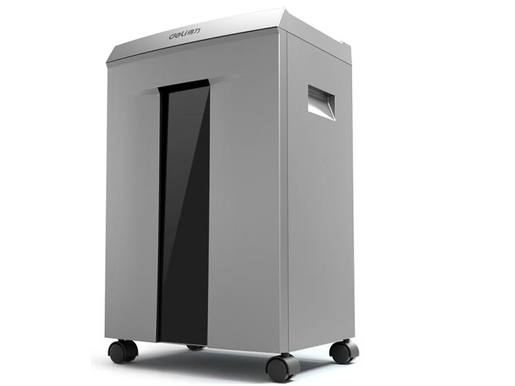 得力 9958 60分钟碎纸大型高速高保密办公商用碎纸机文件粉碎机
