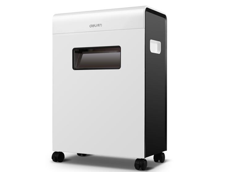 得力 9903 办公商用多功能碎纸机 4级保密办公碎纸机文件粉碎机