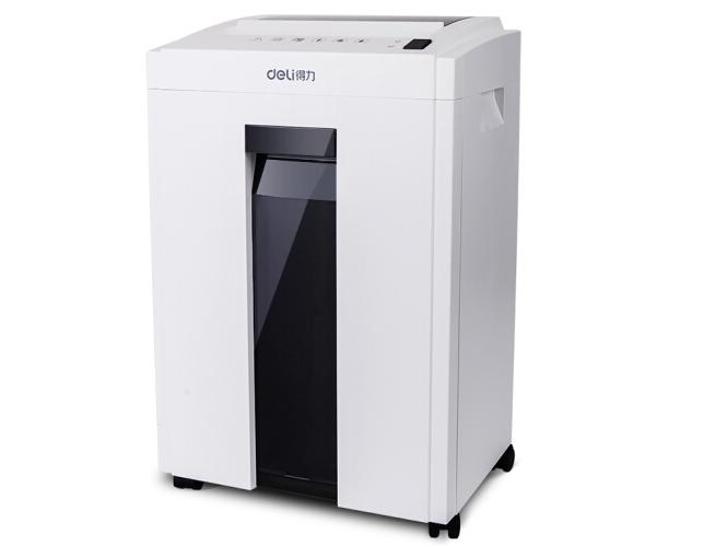 得力 27250 多功能办公大容量商用碎纸机 德国5级高保密碎纸机