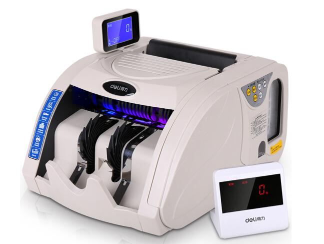 得力 3920S 国标B类自动捆钱验钞机 智能语音点钞机 银行专用
