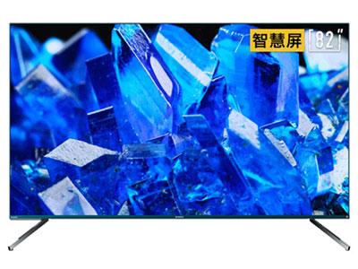 創維  82Q40  82英寸4K超高清 全面屏 人工智能語音 網絡WIFI 液晶平板物聯網電視機