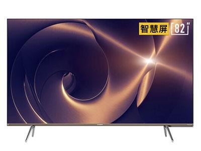 創維  82Q30 82英寸4K超高清 全面屏 人工智能語音 網絡WIFI 液晶平板物聯網電視機
