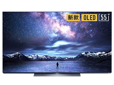 創維  55S81 55英寸超薄OLED 懸浮全面屏電視 4K超高清 護眼自發光 投屏 人工智能語音電視