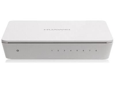 华为(HUAWEI)企业级交换机 8口千兆以太网 交换机自营 即插即用 企业办公网络网线分线器-S1700-8G-AC