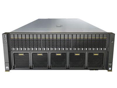 華為 5885H V5 服務器 主機規格4U機架式 處理器Intel至強可擴展處理器鉑金/金牌/銀牌/銅牌 最大處理器數量4顆 芯片組IntelC622 內存48個內存插槽,最高2933MT/s 本地存儲最大25個2.5寸硬盤 RAID支持選配支持RAID0、 1、 10、 5、 50、 6、 60等,支持Cache超級電容保護 網絡板載網卡: 2個10GE接口+2個GE接口 PCIE槽位最大15個PCIE 3.0擴展槽位 電源最大四個電源,2+2冗余 管理iBMC芯片集成1個專用管理GE口