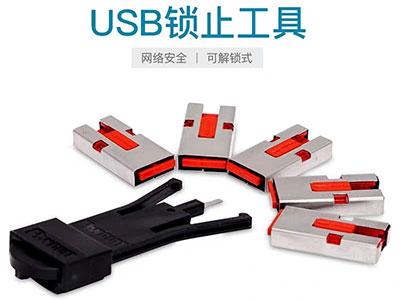 Panduit泛达USB锁A型电脑锁可解锁PSL-USBA
