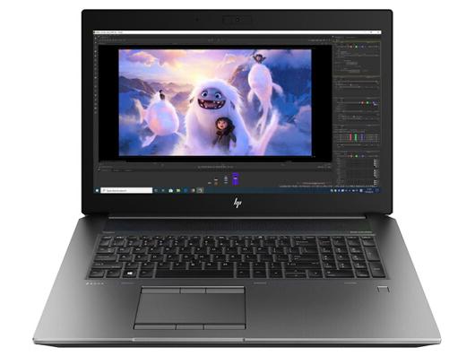 惠普 ZBOOK17 G6 17.3英寸移动图形工作站 8AG11PA i7-9850H GFX NVIDIA Quadro RTX 3000 6GB