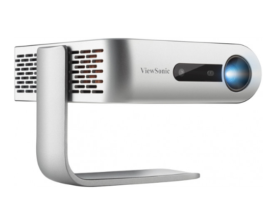 优派 KL1V 微型 便携投影机 (支持1080P JBL音响 手机同屏 360度投影 6H持久续航 ViewSonic)