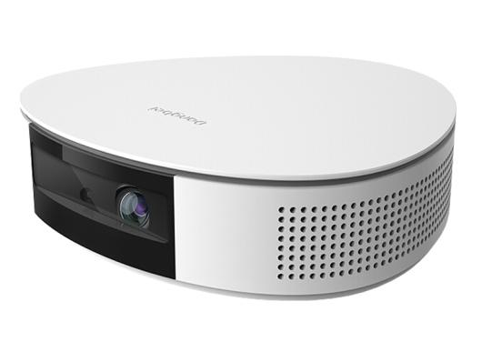当贝 D2H微型智能家用投影仪全高清微型儿童便携式无线家用办公3D电视投影机家庭影院