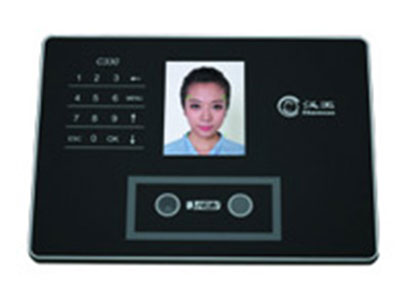 汉王C330考勤机  1、彩屏显示,自动捕获:3.5英寸TFT彩屏显示,人脸自动捕获;2、语音报姓名:识别成功后,自动播报中文姓名;3、触摸键盘:采用最新触摸技术,时尚美观;4、人脸识别算法:采用汉王Dual Sensor V2.1人脸识别算法,识别精准;5、U盘下载:通过U盘上传用户姓名列表,下载考勤记录及考勤人员照片