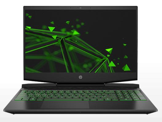 惠普 15-dk0020TX 黑色 笔记本 I5-9300H/8G/512G/GT1660Ti/72高色域 润眼绿光