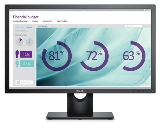 戴尔 E2417H 23.8英寸IPS显示屏幕1080p