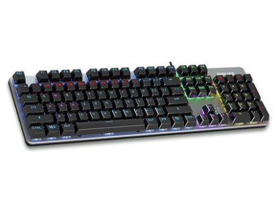 飞利浦SPK8401 合金版机械键盘