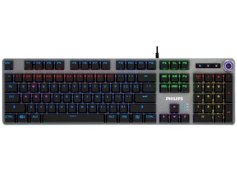 飞利浦SPK8401 升级版机械键盘