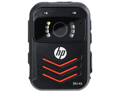 惠普 A5 128G 执法记录仪1296P高清红外夜视现场记录仪