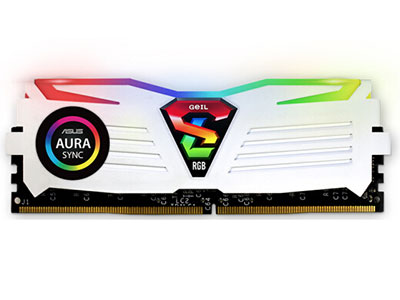 金邦   8G DDR4 3000 台式机内存 极光SUPER LUCE RGB SYNC系列 (RGB灯条)
