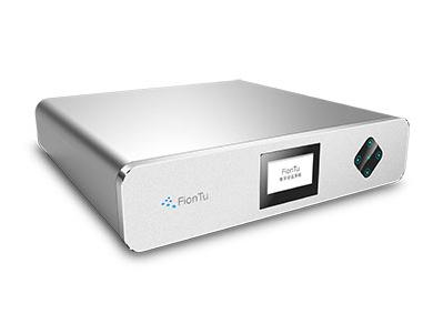 方圖 I Mic Center/M 智能會議中心(標準型) 采用FionTu獨創數字會議技術,通過面板導航鍵盤可對所有會議功能進行集中控制。
