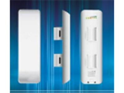 沃尔斯 网桥  5.8GHZ 802.11b/g/n, 功率500Mw,内置12dBi平板天线,支持AP、station,repeater 支持Mimo 协议 PoE供电 网桥5KM支持抗干扰TDMA协议 支持网络摄像机15个以内