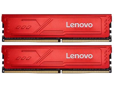 联想 DDR4 3200 16GB(8GBX2) 台式机内存条 红靡战甲 Master大师系列