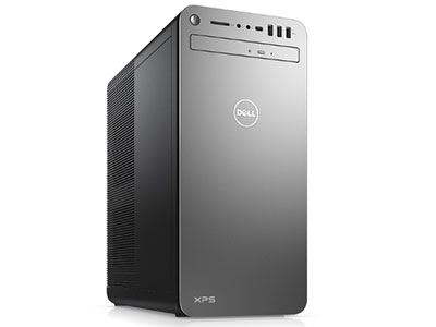 戴尔  XPS8930  XPS 8930-R3AN8S I7-9700/16G 2666/512G SSD+2TB/DVDRW/RTX 2060 6G DDR6/460瓦/wifi/3NBD/不带键鼠/银色/Win 10