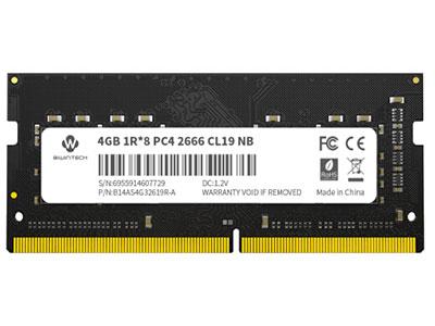 佰微 DDR4 2666 4GB 笔记本内存