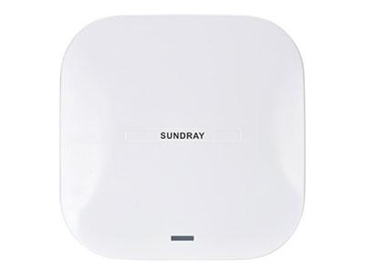 信锐 11ac wave2智能天线无线NAP-5600 1、支持802.11ac wave2协议,整机最大速率达2533Mbps;2、内置智能天线,实现工作信道、发射功率自动调整;3、支持虚拟AP技术,最大可以提供32个虚拟SSID;4、内置数据探针,可实现客流统计、无线定位、终端信息收集;5、内置Bluetooth4.0蓝牙模块,支持基于蓝牙通信的应用;6、支持USB2.0接口,实现外接U盘以及应用扩展;7、支持网关路由一体化、胖瘦模式一体化,支持拨号接入互联网;8、支持点对点、点对多点WDS中继网桥,实现不便布线区域覆盖;