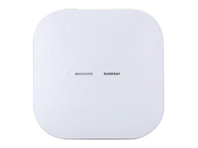 信锐  11ac wave2智能天线无线接入点SDU-1800 1、支持802.11ac wave2协议,整机最大速率1167Mbps;2、内置矩阵式智能天线,支持信道、发射功率自动调整;3、支持虚拟AP技术,最大可以提供32个虚拟SSID;4、内置数据探针,可实现客流统计、无线定位、终端信息收集;5、千兆上行链路,突破传统百兆速率限制,保证高速传输;6、支持网关路由一体化、胖瘦模式一体化,支持拨号接入互联网;7、支持点对点、点对多点WDS中继网桥,实现不便布线区域覆盖;