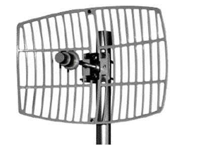 信锐  超远距离中继天线 1、5G单极化栅格抛物面定向天线,用于室外AP实现5G频段中继桥接;2、最大增益26dBi,波瓣宽度较小,适用于1~7公里点对点传输;