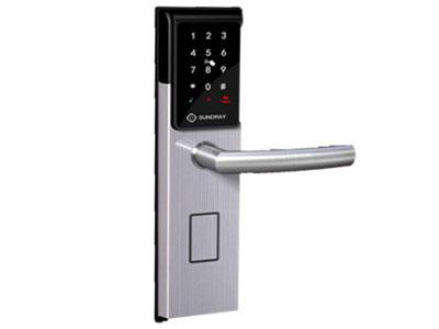 信锐  Zigbee智能门锁 1、内置Zigbee模块,支持密码、刷卡、机械钥匙等多种开启方式;2、支持智能控制,可通过WEB、APP远程控制、联动控制;3、支持情景策略,如有人出入门禁时,远程开启/关闭门禁设备;4、支持对接校园一卡通,通过校园一卡通刷卡开门;