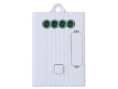 信锐  1路灯光控制器 1、支持LPWAN(低功耗广域网络),通讯频率433MHz;2、内置熔断保护器,防止因误操作、老化导致的控制器损坏;3、采用高强度双面胶粘贴安装,无需布线,易装易用;4、可与动能开关、网关、物联网平台结合,实现本地、远程、联动控制;