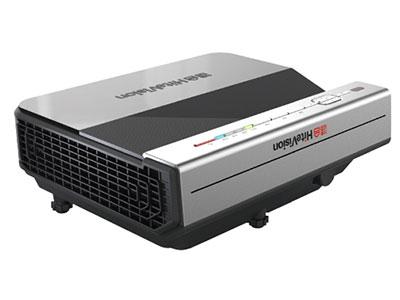 鸿合HT-A21WD  教育投影机投影机特性 超短焦   投影技术  DLP   显示芯片 0.65英寸DMD芯片   亮度  3800流明   标准分辨率  WXGA(1280*800)纠错