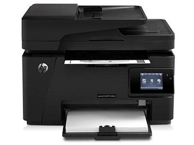 惠普  128FW/132FW 黑白激光打印机 多功能一体机 无线打印复印扫描传真