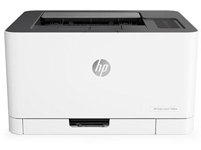 惠普  154NW/150NW  彩色激光打印机体积小巧无线打印
