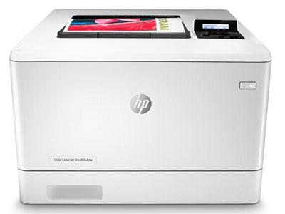 惠普  454NW  彩色激光打印机 彩色打印 液晶显示屏 有线网络/无线连接