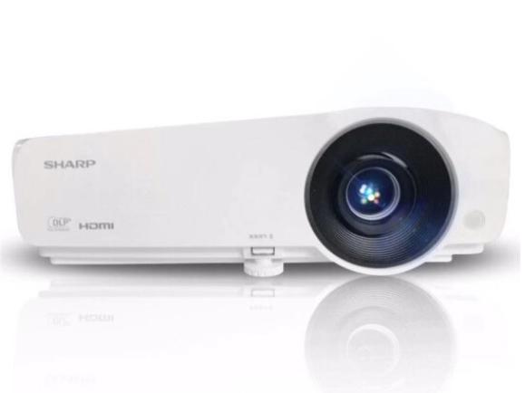 夏普 XG-H370XA 3700流明DLP标清 商务办公高清手机WIFI投影仪高端3D投影机1080P