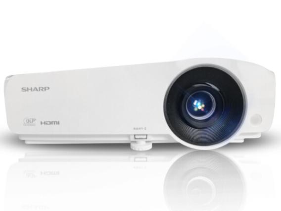 夏普 XG-H450XA投影仪 商务教育投影机 标清 4500流明 1.2倍变焦 蓝光3