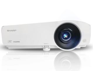 夏普 XG-HT35XA 3700流明 短焦投影仪教学用办公投影机近距离KTV客厅影院投影客厅游戏卧室电影院