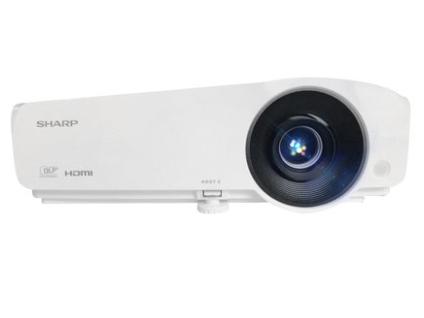 夏普 XG-H380WA投影仪家用高清办公投影机支持1080p