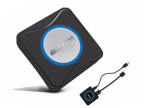 BOEGAM宝疆 一键联无线投屏会议系统、企业级无线投影会议系统、无线传屏器、会议音视频无线传输器 HDMI发射器
