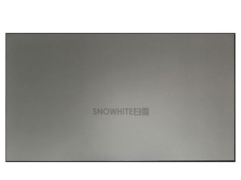 白雪80英寸16:9菲涅尔抗光硬幕